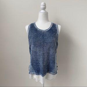 INC International Concepts Knit Layered Tank Top